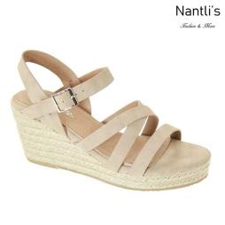 AN-Mayari-15 Beige Zapatos de Mujer Mayoreo Wholesale Women Shoes Nantlis