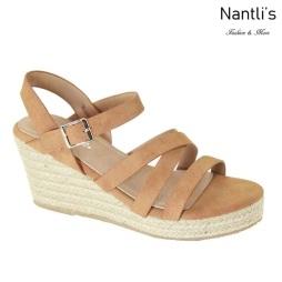 AN-Mayari-15 Chesnut Zapatos de Mujer Mayoreo Wholesale Women Shoes Nantlis