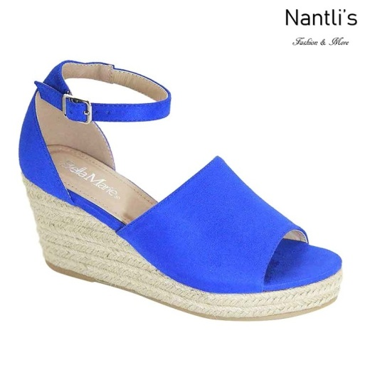 AN-Mayari-5 Blue Zapatos de Mujer Mayoreo Wholesale Women Shoes Nantlis