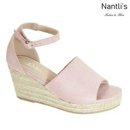 AN-Mayari-5 Rose Zapatos de Mujer Mayoreo Wholesale Women Shoes Nantlis