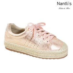 AN-Melanie-40 Rose Gold Zapatos de Mujer Mayoreo Wholesale Women Shoes Nantlis