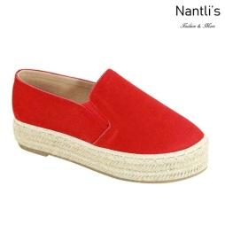 AN-Melanie-50 Red Zapatos de Mujer Mayoreo Wholesale Women Shoes Nantlis