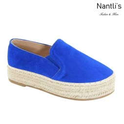 AN-Melanie-50 Royal Blue Zapatos de Mujer Mayoreo Wholesale Women Shoes Nantlis