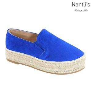 AN-Melanie-50 Royal Blue Zapatos de Mujer Mayoreo Wholesale Women Shoes Nantlis