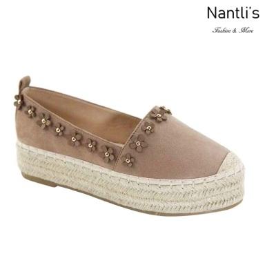 AN-Melanie-8 Taupe Zapatos de Mujer Mayoreo Wholesale Women Shoes Nantlis