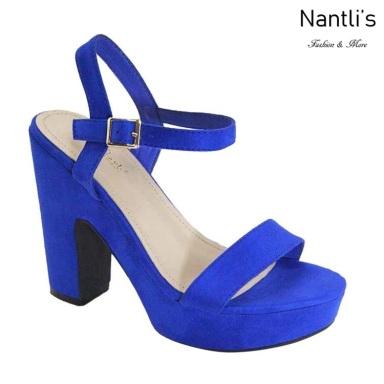 AN-Melora-21 Royal Blue Zapatos de Mujer Mayoreo Wholesale Women Shoes Nantlis
