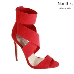 AN-Melva Red Zapatos de Mujer Mayoreo Wholesale Women Shoes Nantlis