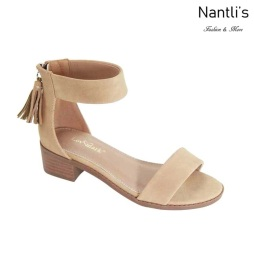 AN-Micaela-1K Natural Zapatos de nina Mayoreo Wholesale girls Shoes Nantlis