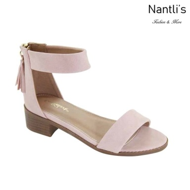 AN-Micaela-1K Pink Zapatos de nina Mayoreo Wholesale girls Shoes Nantlis