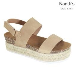 AN-Minorca Natural Zapatos de Mujer Mayoreo Wholesale Women Shoes Nantlis