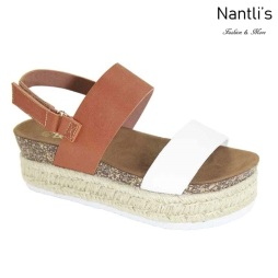 AN-Minorca Tan Zapatos de Mujer Mayoreo Wholesale Women Shoes Nantlis