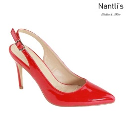 AN-Misty-8 Red Zapatos de Mujer Mayoreo Wholesale Women Shoes Nantlis