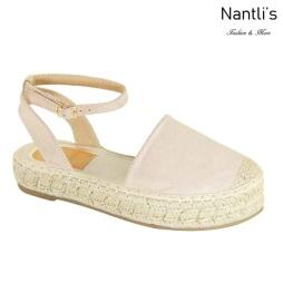 AN-Moira-30 Beige Zapatos de Mujer Mayoreo Wholesale Women Shoes Nantlis
