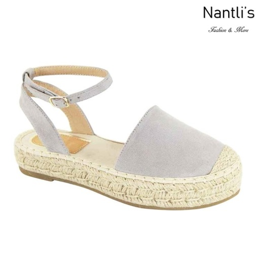 AN-Moira-30 Grey Zapatos de Mujer Mayoreo Wholesale Women Shoes Nantlis