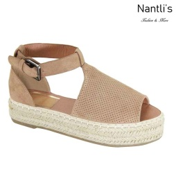 AN-Moira-40 Light Brown Zapatos de Mujer Mayoreo Wholesale Women Shoes Nantlis
