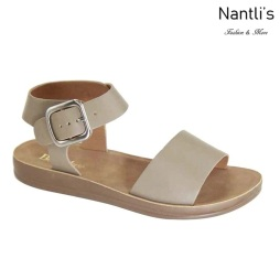 AN-Montawk-10 Taupe Zapatos de Mujer Mayoreo Wholesale Women Shoes Nantlis
