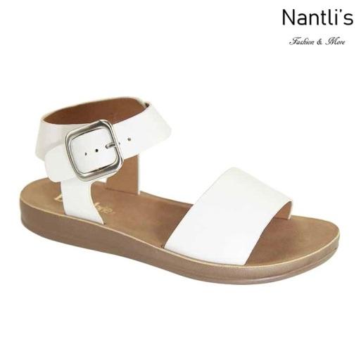 AN-Montawk-10 White Zapatos de Mujer Mayoreo Wholesale Women Shoes Nantlis