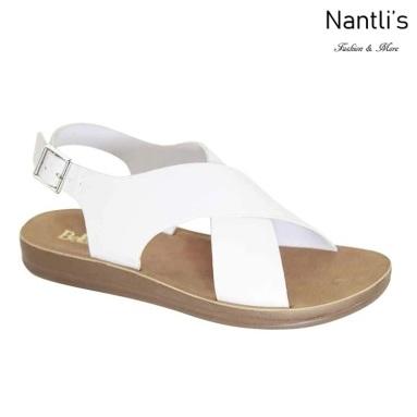 AN-Montawk-15 White Zapatos de Mujer Mayoreo Wholesale Women Shoes Nantlis