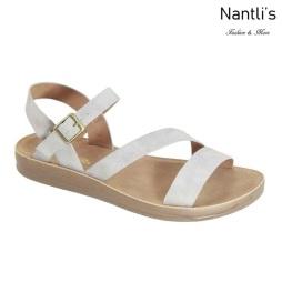 AN-Montawk-30 Light Grey Zapatos de Mujer Mayoreo Wholesale Women Shoes Nantlis