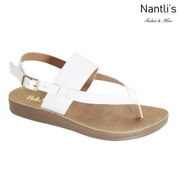 AN-Montawk-35 White Zapatos de Mujer Mayoreo Wholesale Women Shoes Nantlis