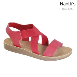 AN-Montawk-40 Red Zapatos de Mujer Mayoreo Wholesale Women Shoes Nantlis