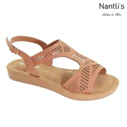 AN-Nelda-10 Chesnut Zapatos de Mujer Mayoreo Wholesale Women Shoes Nantlis