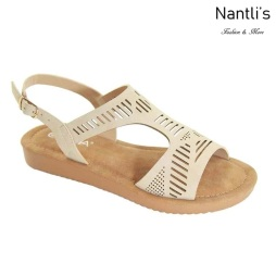 AN-Nelda-10 Taupe Zapatos de Mujer Mayoreo Wholesale Women Shoes Nantlis