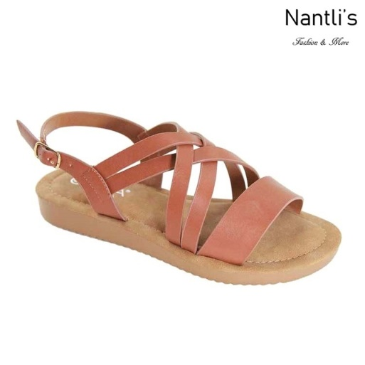 AN-Nelda-15 Chesnut Zapatos de Mujer Mayoreo Wholesale Women Shoes Nantlis