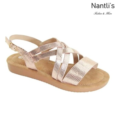 AN-Nelda-15 Rose Gold Zapatos de Mujer Mayoreo Wholesale Women Shoes Nantlis