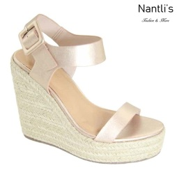 AN-Nicoya Rose Gold Zapatos de Mujer Mayoreo Wholesale Women Shoes Nantlis