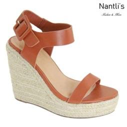 AN-Nicoya Tan Zapatos de Mujer Mayoreo Wholesale Women Shoes Nantlis