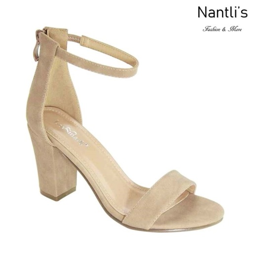 AN-Nixty-1 Natural Suede Zapatos de Mujer Mayoreo Wholesale Women Shoes Nantlis