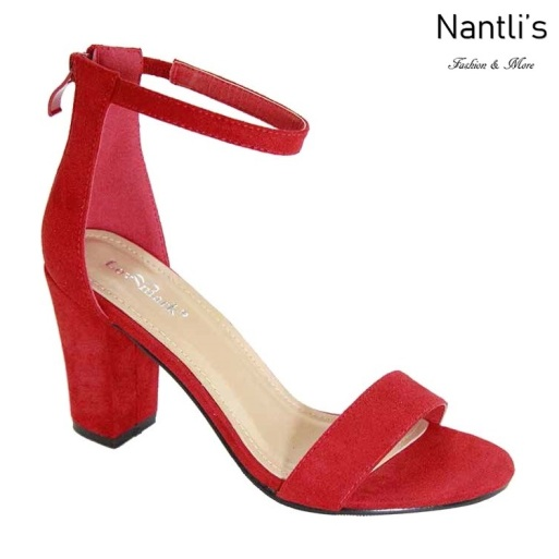 AN-Nixty-3 Red Zapatos de Mujer Mayoreo Wholesale Women Shoes Nantlis