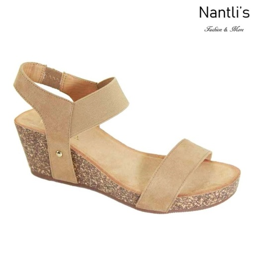AN-Norie Natural Zapatos de Mujer Mayoreo Wholesale Women Shoes Nantlis