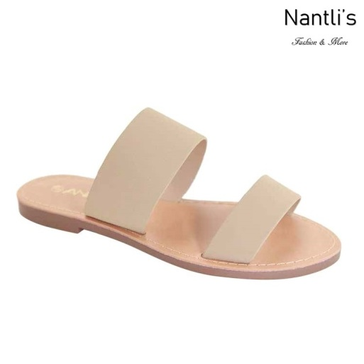 AN-Partial-1 Taupe Zapatos de Mujer Mayoreo Wholesale Women Shoes Nantlis