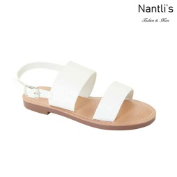 AN-Partial-20K White Zapatos de nina Mayoreo Wholesale girls Shoes Nantlis