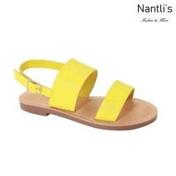 AN-Partial-20K Yellow Zapatos de nina Mayoreo Wholesale girls Shoes Nantlis