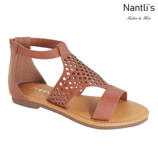 AN-Partial-40 Tan Zapatos de Mujer Mayoreo Wholesale Women Shoes Nantlis