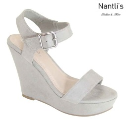 AN-Paso-50 Grey Zapatos de Mujer Mayoreo Wholesale Women Shoes Nantlis