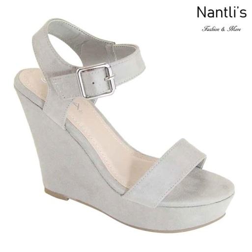 AN-Paso-50 Grey Zapatos de Mujer Mayoreo Wholesale Women Shoes Nantlis