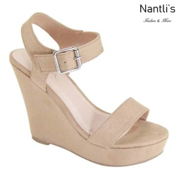 AN-Paso-50 Taupe Zapatos de Mujer Mayoreo Wholesale Women Shoes Nantlis