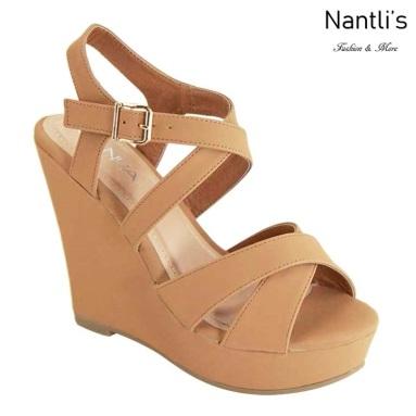 AN-Paso-6 Tan Zapatos de Mujer Mayoreo Wholesale Women Shoes Nantlis