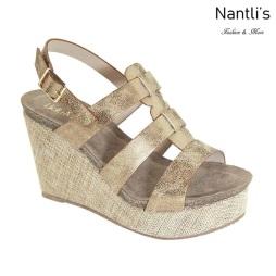 AN-Pisana Bronze Zapatos de Mujer Mayoreo Wholesale Women Shoes Nantlis