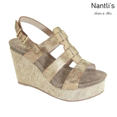 AN-Pisana Bronze Zapatos de Mujer Mayoreo Wholesale Women Shoes Nantlis