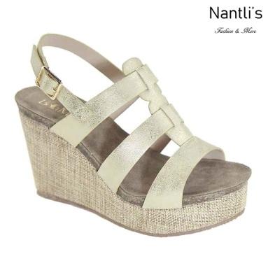 AN-Pisana Gold Zapatos de Mujer Mayoreo Wholesale Women Shoes Nantlis