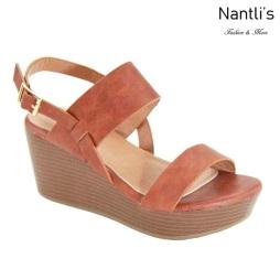 AN-Sabana Cognac Zapatos de Mujer Mayoreo Wholesale Women Shoes Nantlis