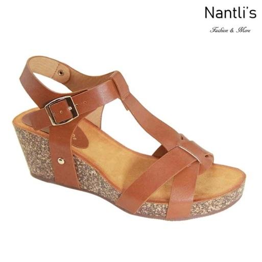 AN-Saffron Chesnut Zapatos de Mujer Mayoreo Wholesale Women Shoes Nantlis