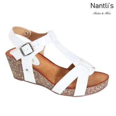 AN-Saffron White Zapatos de Mujer Mayoreo Wholesale Women Shoes Nantlis