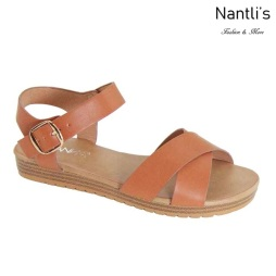AN-Samara Tan Zapatos de Mujer Mayoreo Wholesale Women Shoes Nantlis