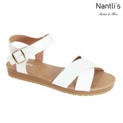 AN-Samara White Zapatos de Mujer Mayoreo Wholesale Women Shoes Nantlis